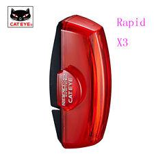 CATEYE TL-LD700 light Rear Warning Light USB-COB Rechargeable Bike Rapid X3 Red