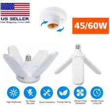 Deformable E27 Led Garage Light Bulb Fixture Lights Workshop Shop Ceiling Lamp