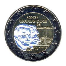 Luxemburgo - 2 euro 2012-Guillermo IV. - holograma (12355/757n)