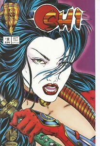 °SHI THE WAY OF THE WARRIOR 2 von 12°Crusade Comics 1994 Fan Regular Cover