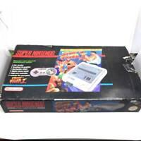 SNES Original Street Fighter Boxed vintage rare working retro game PAL version