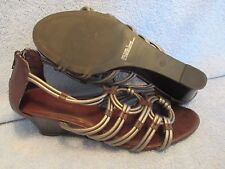 Womens Shoes AUBREY BROOKE Size 9 GLADIATOR SANDALS LN
