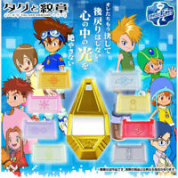 NEW Bandai Digimon Adventure Tag & Crest Emblem & Premium Pins from Japan F/S