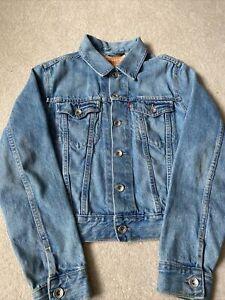 levis denim jacket size 12
