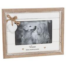 "Provence Sentiment Photograph Frame Love 18.5cm High Takes 6 x 4"" (15 x 10 cm)"
