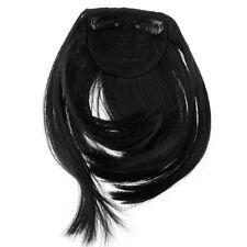 Perruques, extensions et matériel franges noires sans marque pour femme