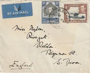 1940 KUT cover sent from Kabale,Uganda to Teignmouth,Devon UK