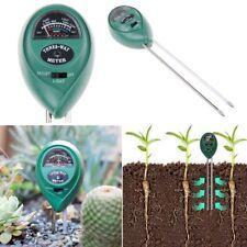 PH Garden Soil Tester Professional LCD Temperature Moisture Sunlight Meter