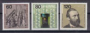 BRD 1984 postfrisch MiNr. 1215-1217  Einzelmarken aus MiNr. Block 19