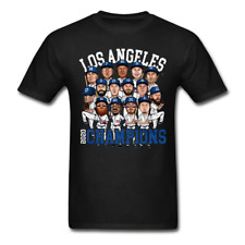 Los Angeles Dodgers Campeones 2020 T-shirts MLB Winner Champions Baseball Tee