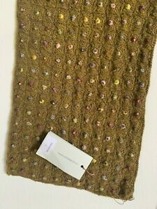 Sophie Digard wool hand crocheted  Scarf BNWT