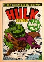 HULK COMIC #3 Marvel Comics UK 1979