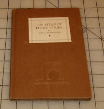 The Story of LUCKY STRIKE Cigarettes Book - 1939 NY World's Fair Edition