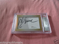 Mike Eruzione Rob McClanahan 2013 Leaf Masterpiece Cut Signature 1/1 JSA 1980 US