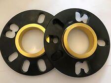 Separadores de Rueda de centrado en el concentrador BIMECC Negro 10 Mm x 2 Peugeot 1007 206 207 405 1 65.1