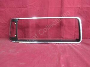 NOS OEM Buick Skylark Head Light Bezel Chrome & Black 1988 - 1991 Right Hand