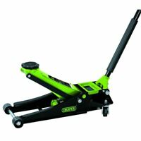 Draper Low Entry Trolley Jack 2.25 tonne Green 69671