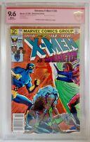 Uncanny X-Men #150 CBCS 9.6 1981 Signed Chris Claremont Magneto Cover & Appear.