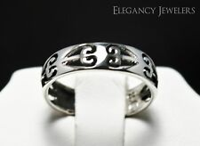 Adjustable .925 Sterling Silver Sideways Six Hearts Toe Ring