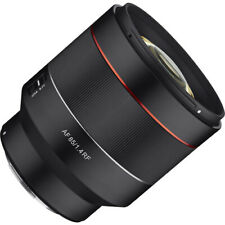 New Rokinon AF 85mm F1.4 High Speed Auto Focus Lens for Canon EOS R - RF Mount