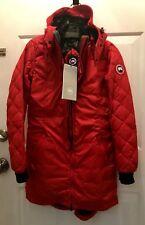 Women's Canada Goose Stellarton Coat - Red - XS