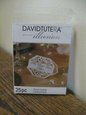 New! David Tutera Illusion Place Cards 25pc - Cutout Design - Dtil1135
