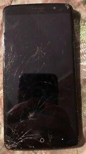 [BROKEN] ZTE Max XL 16GB Black N9560 (Unknown) Cracked Glass NO POWER