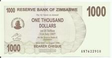Simbabwe / Zimbabwe 1000 Dollar 2006 P-44 UNC