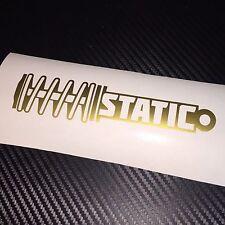 GLOSS GOLD Static Sticker Decal JDM VDUB Drift Show Stance Low Flush Euro EDM