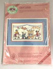 Circus Parade Cross Stitch Kit Nancy Miller Dimensions 53535 Bears 1988 Vintage
