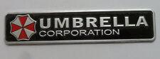 Resident Evil -Umbrella corporation Metal 3D Car Badge Emblem -UK Seller