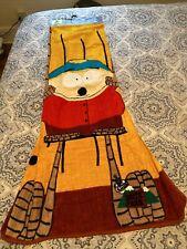New vintage 1998 South Park cotton Beach Towel Franco Comedy Central Cartman