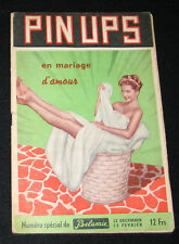 RARE REVUE PIN-UP MARIAGE NUE SPECIAL BELAMIE PHOTO PIRATE NU BRIGITTE BARDOT