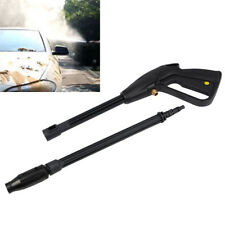 High Pressure Washer Spray Gun 160 bar Lance Trigger Jet Wash Water Car Black