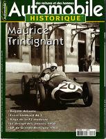 AUTOMOBILE HISTORIQUE n°46 BUGATTI ATLANTIC LOMBARD AL3 MAURICE TRINTIGNANT