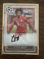 2020-21 Topps Museum Collection UEFA Joshua Zirkzee Gold Frame Auto 41/50!! 🔥🔥