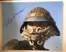 Billy Dee Willams Signed Autographed 16x20 Photo Lando Star Wars BECKETT COA