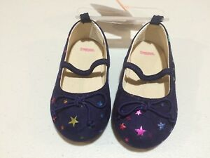 NWT Gymboree Cosmic Club Stars Flats Dress Shoes toddler Girls 4,5,6,7,8,9
