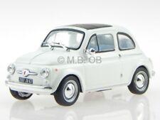 Fiat 500 TA creme-white modelcar Atlas 1:43