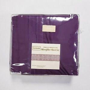 Tastelife Ultra Soft Brushed Microfiber Twin XL 3 Piece Sheet Set Purple