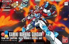 Kamiki Burning Gundam HGBF Build Fighters Try 1/144 Model Figure Bandai Japan
