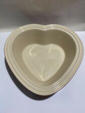 LE CREUSET Heart Casserole Dish Stoneware baking dish Red