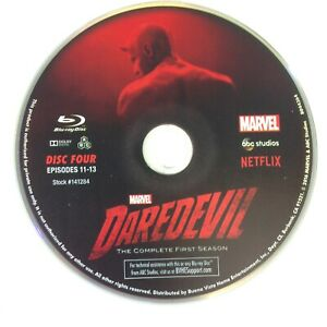 Daredevil - Season 1 - Disc 4 - Blu Ray Disc Only - Replacement Disc