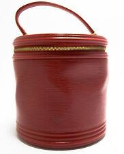 Louis Vuitton EPI CANNES Tasche ELEGANT Bag Vanity Handbag Rare Rot Red Rouge