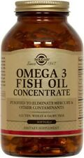 Omega 3 Fish Oil Concentrate Solgar 240 Softgel