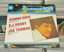 Ronnie Dove,Joe Thomas,P.J. Proby - LP (mint-) La Grande Storia del Rock / ITALY