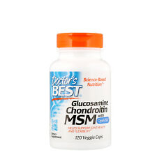 Doctor s Best  Glucosamine Chondroitin MSM with OptiMSM  120 Veggie Caps