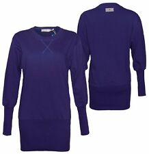 adidas Originals Stella McCartney Ladies Long Sweatshirt Pullover Dress S