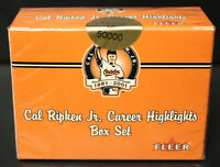 2001 Fleer Cal Ripken Jr. Career Ltd. Ed. Sealed 60 Card Boxed Set  **1/2 PRICE