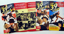 3 DIFFERENT THE 39 STEPS THEATRE FLYERS - CRITERION THEATRE